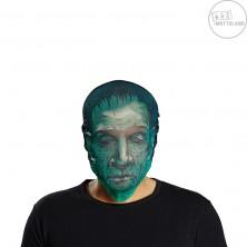 Maska Zombie zelená