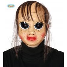 Maska PSYCHO s vlasy