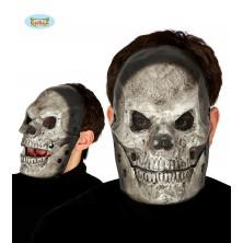 Maska SKULL šedá