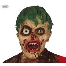 Latexová maska zombie