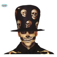 SKULL HAT - klobouk se smrtkami