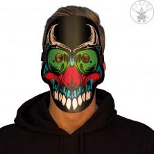 Led svítící maska Halloween