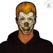 Led svítící maska Scary Clown