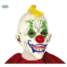 "Maska klauna se žlutým ""kohoutem"""