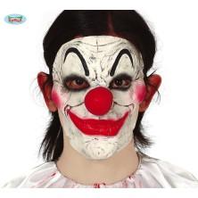 Polomaska klauna latexová