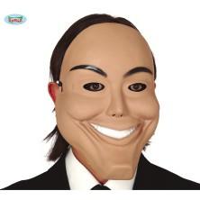Maska úsmívajícího se muže