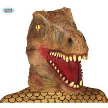 Latexová maska T-REX