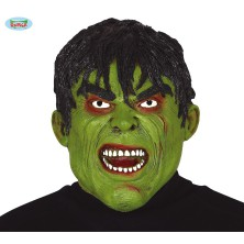 Latexová maska zelená