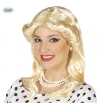 Retro blond paruka