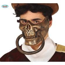 Maska s hadicí STEAMPUNK