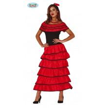 Flamenca - dámský kostým