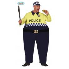 Kostým tlustý policista