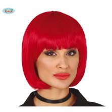 Dámská krátkovlasá paruka červená