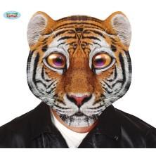 Plastová maska - tygr