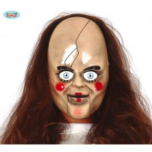 Plastová maska panenka