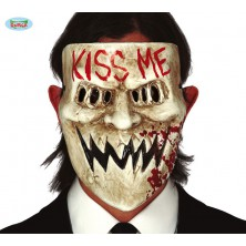 KISS ME -  plastová maska