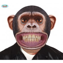Plastová maska - opice