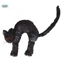 Černá kočka 23 x 22 cm