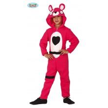 Kostým růžový medvěd