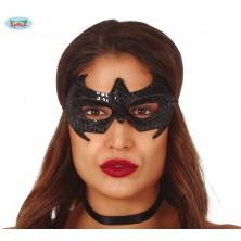 Černá pavoučí maska