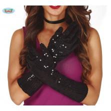 Flitrové rukavice
