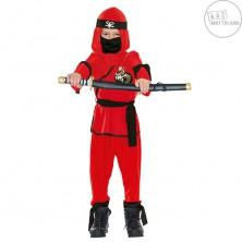 Ninja bojovník - červenočerný