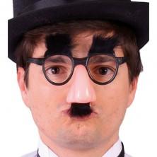 Brýle s nosem a vousy