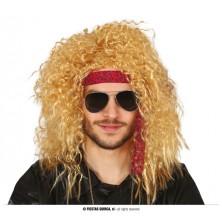 Rocker - pánská blond paruka