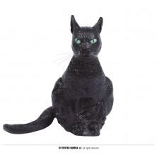 Černá latexová kočka