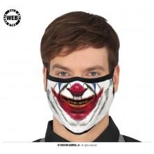 Rouška smějící se klaun