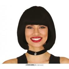 Dámská paruka černá Rachel