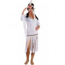 Kostým INDIANA GIRL bílý