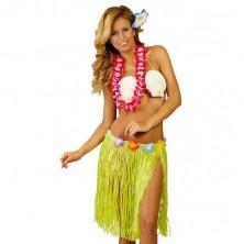 Havajská sukně mix barev