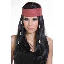 Pirát(ka) - karnevalová paruka