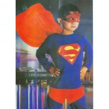 Superman II. - kostým pro děti - L 8 - 10 roků