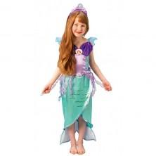 Ariel Mořská víla - kostým - S 3 - 4 roky