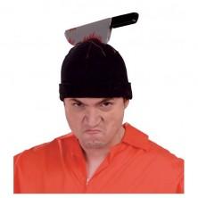 Čepička s nožem