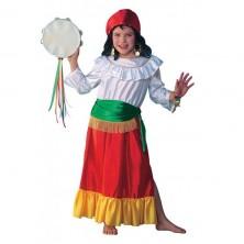 Cikánka - kostým pro děti - 104