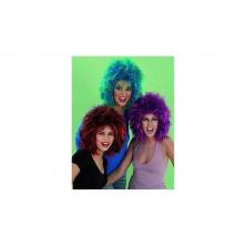 Dunja - karnevalová paruka - zelená