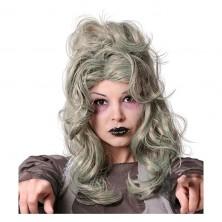 Paruka Zombie šedá