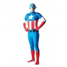 Licenční kostým Kapitán Amerika - XL 54 - 56