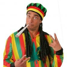 Čepice jamajka BOB MARLEY
