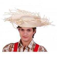 Slaměný přírodní klobouk
