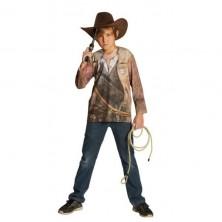 Tričko s potiskem kovboj