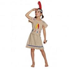 Indiánka - dětský kostým - 104
