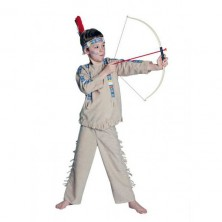 Indián - dětský kostým - 104