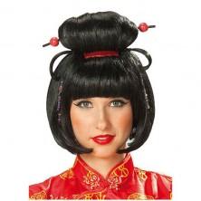 Geischa Girl - karnevalová paruka