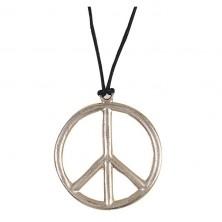 Náhrdelník - Peace prům. 6,5 cm