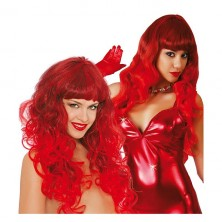 Paruka Vixen červená