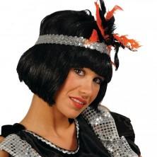 Paruka Melena černá